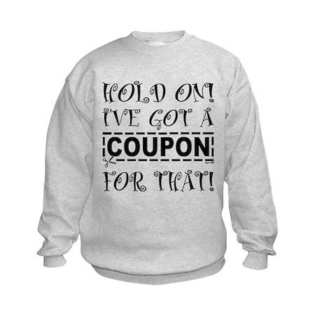 HOLD ON! Kids Sweatshirt