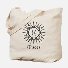 Astrology :: Pisces Tote Bag