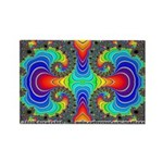 Fractal FR~16 Rectangle Magnet (10 pack)