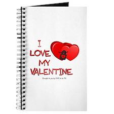 I LOVE MY VALENTINE Journal