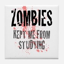 ZOMBIES kept me from studying Tile Coaster