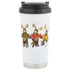 Cute Moose Travel Mug