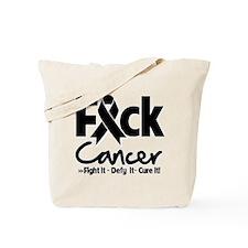 Fuck Skin Cancer.png Tote Bag