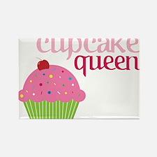 Cupcake Queen Rectangle Magnet