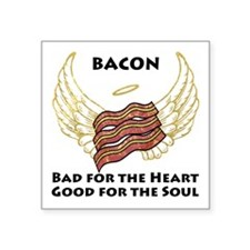 "Soul Bacon Square Sticker 3"" x 3"""