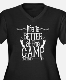 Life Is Better At The Camp Plus Size T-Shirt