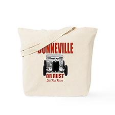 bonneville salt flats racing Tote Bag