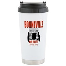 bonneville salt flats racing Thermos Mug