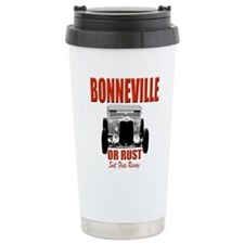 bonneville salt flats racing Travel Mug