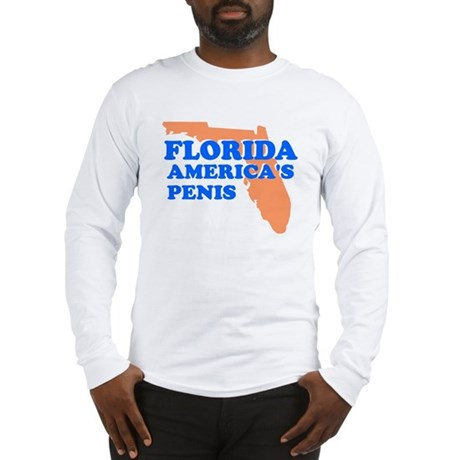 FLORIDA AMERICAS PENIS FLORID Long Sleeve T-Shirt