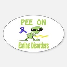 Pee on Eating Disorders Bumper Stickers