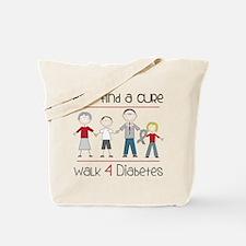Walk 4 Diabetes Tote Bag