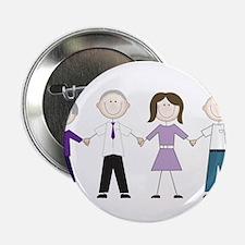 """Alzheimers Stick Figures 2.25"""" Button"""
