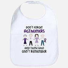 Dont Forget Alzheimers Bib