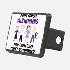 Dont Forget Alzheimers Hitch Cover