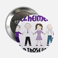 """Dont Forget Alzheimers 2.25"""" Button"""