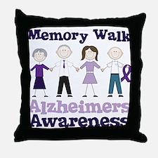 Memory Walk Throw Pillow