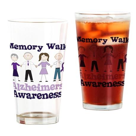 Memory Walk Drinking Glass