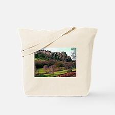 Edinburgh Castle View Tote Bag