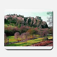 Edinburgh Castle View Mousepad