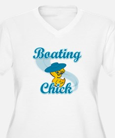 Boating Chick #3 T-Shirt