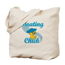 Boating Chick #3 Tote Bag