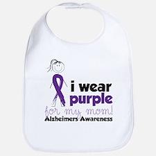 I Wear Purple Bib