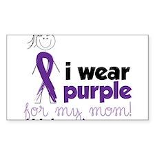 I Wear Purple Decal