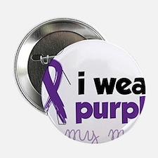 """I Wear Purple 2.25"""" Button"""