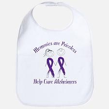 Help Cure Alzheimers Bib