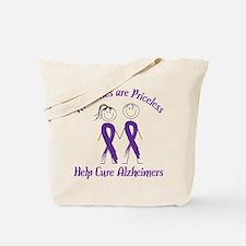 Help Cure Alzheimers Tote Bag