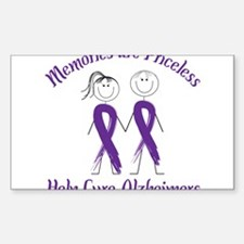 Help Cure Alzheimers Decal