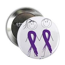 """Help Cure Alzheimers 2.25"""" Button"""