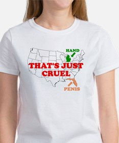 AMERICA'S HAND AND PENIS ARE Tee