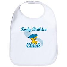 Body Builder Chick #3 Bib