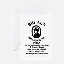 Big Als Pizza NYC Greeting Cards