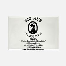 Funny Pizza Rectangle Magnet (10 pack)