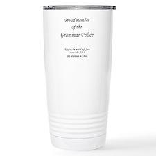 Cute Grammar police Travel Mug