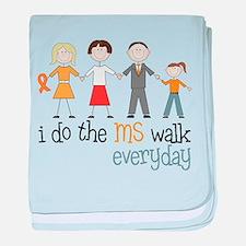 The MS Walk baby blanket
