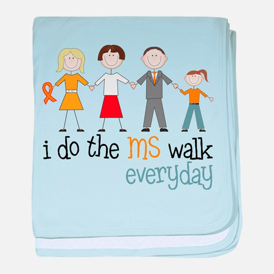 The MS Walk baby blanket