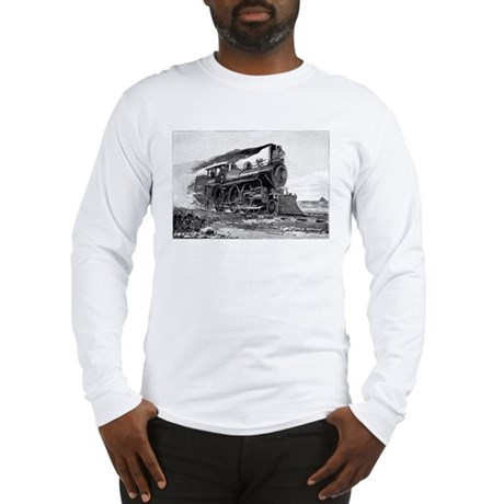 Steam Locomotive Long Sleeve T-Shirt
