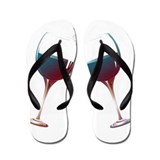 Wine glasses Flip Flops