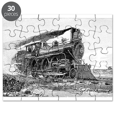 Steam Locomotive Puzzle