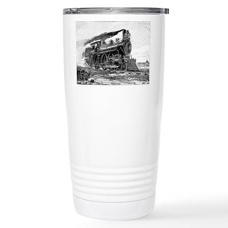Steam Locomotive Stainless Steel Travel Mug