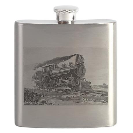 Steam Locomotive Flask