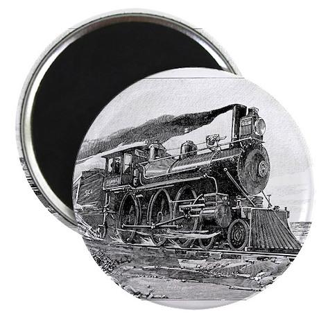 "Steam Locomotive 2.25"" Magnet (10 pack)"
