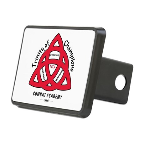 TCCA Logo Black Rectangular Hitch Cover