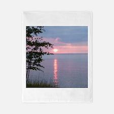 Sunset Lake Superior Twin Duvet