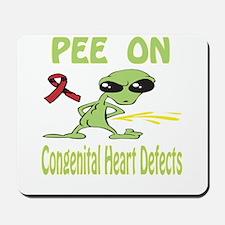 Pee on Congenital Heart Defects Mousepad
