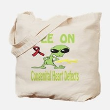 Pee on Congenital Heart Defects Tote Bag